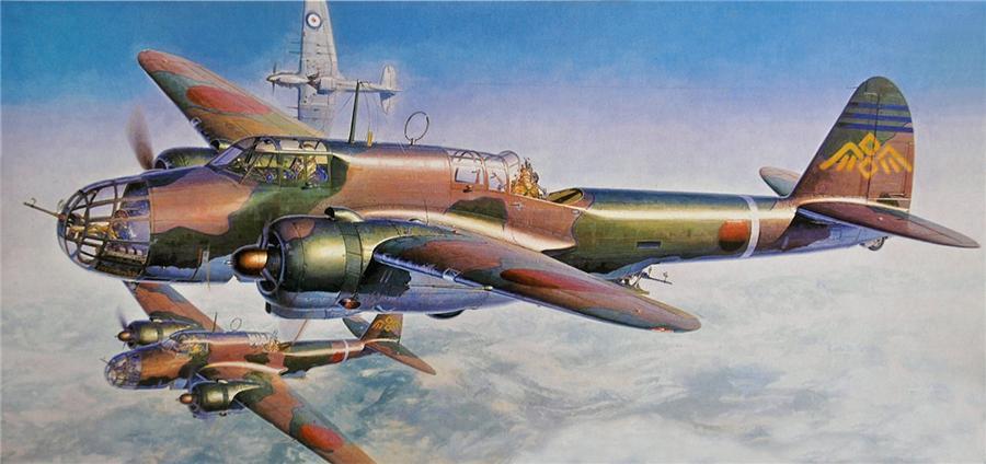Shigeo Koike. Бомбардировщик Kawasaki Ki-48.