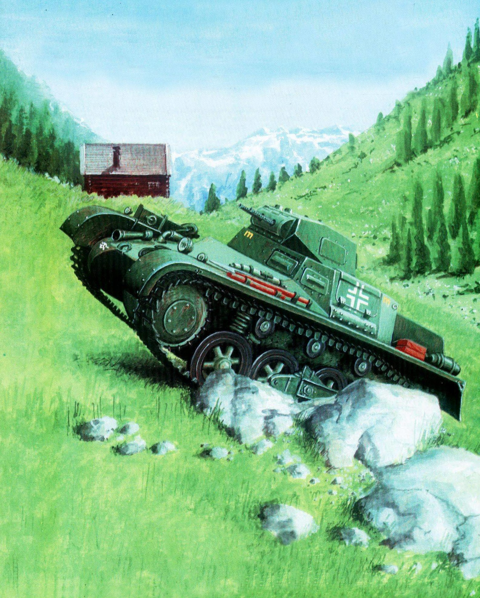 Pecko Zenon. Танк Panzer I Ausf. B.