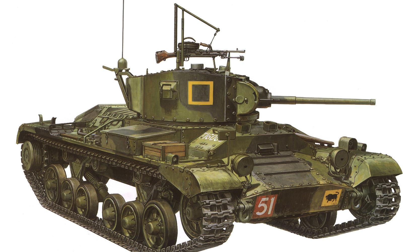 Sasaki H. & Kurokawa T. Танк Mk. III Valentine.