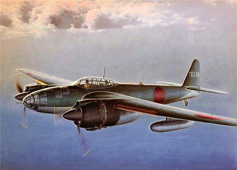 Shigeo Koike. Бомбардировщик Yokosuka P-1Y «Ginga».