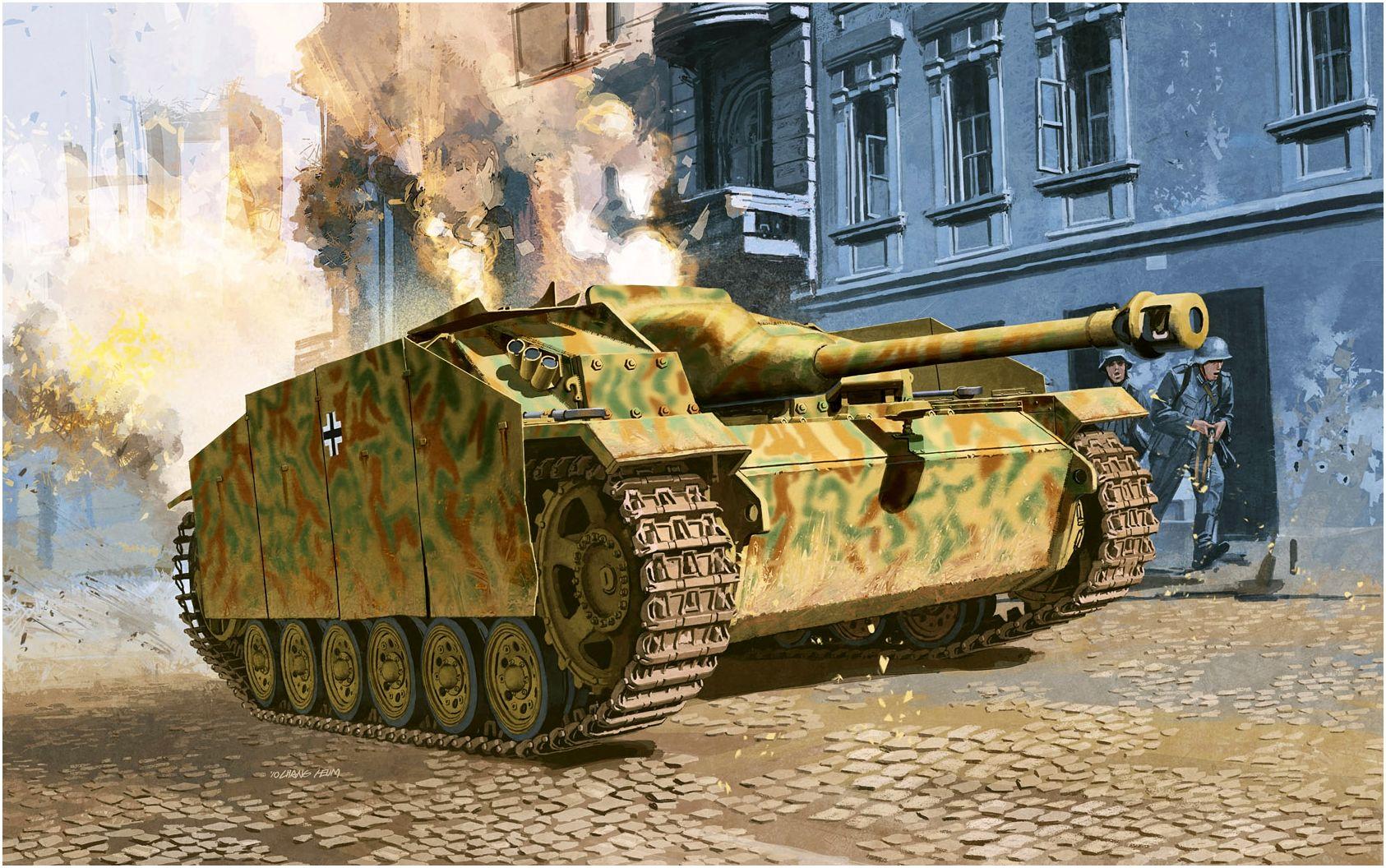 Heum Chang. САУ StuG III Ausf. G.