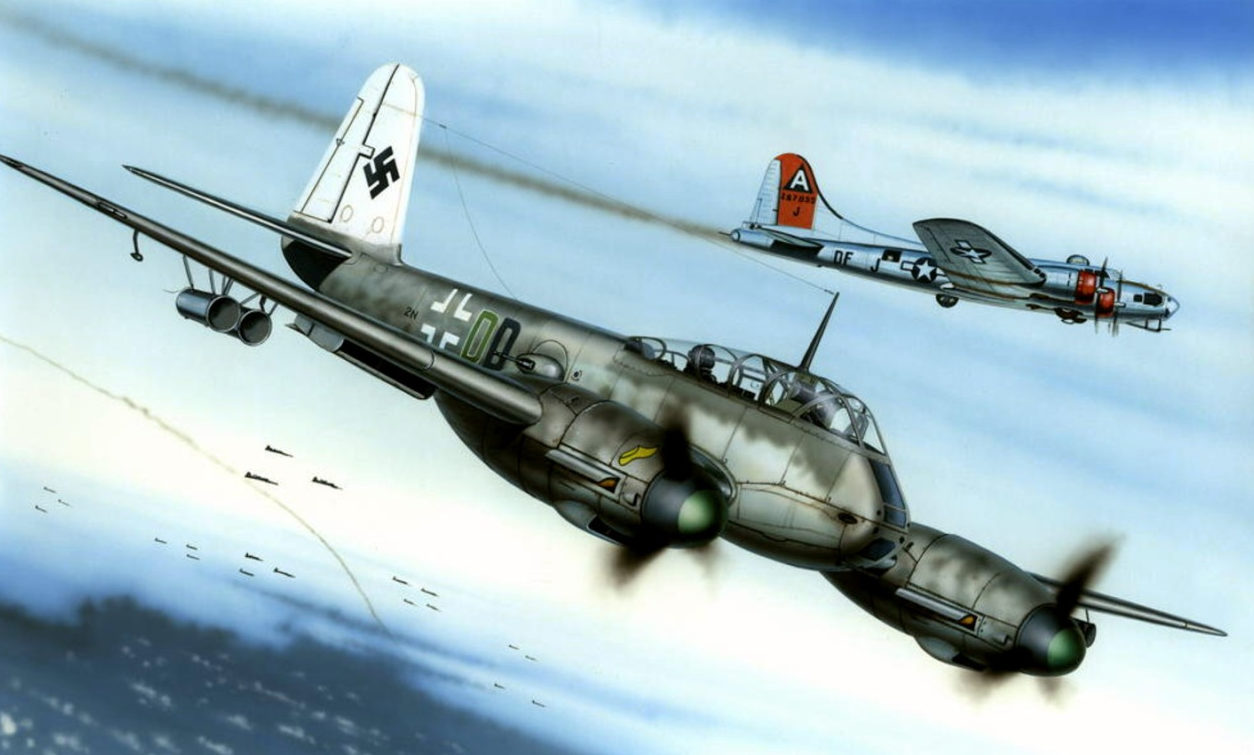 Novotny Martin. Истребитель Me-410.