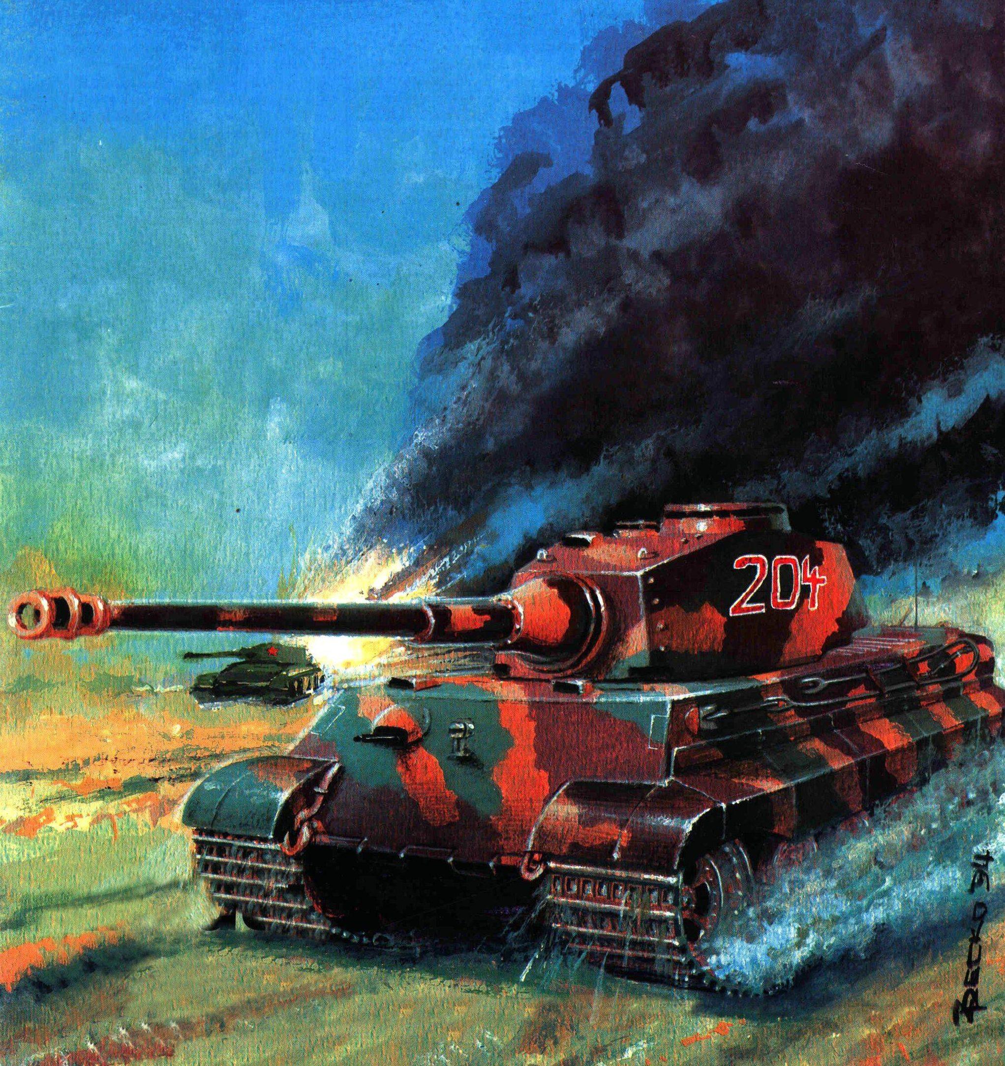 Pecko Zenon. Танк Tiger II.