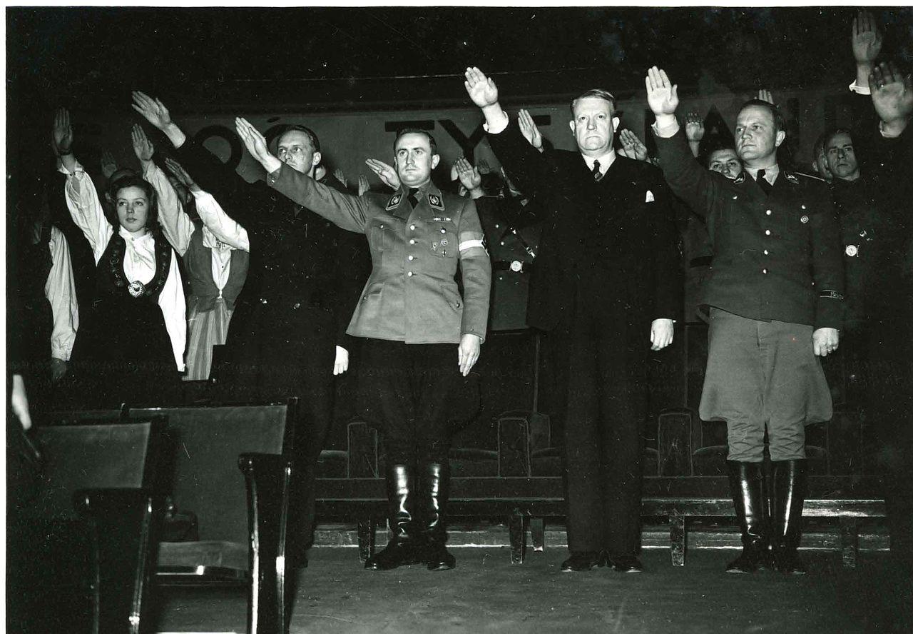 Артур Аксман в Норвегии. 1942 г.