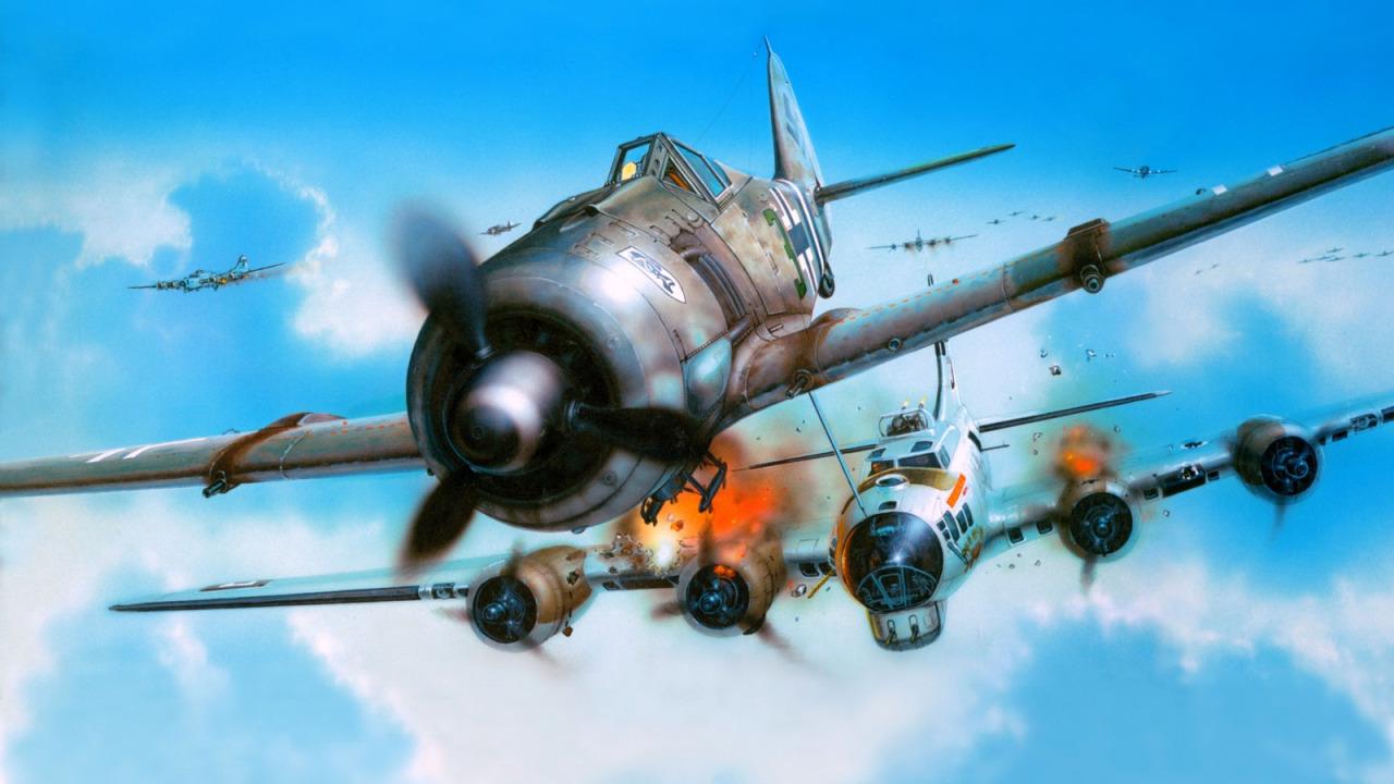 Novotny Martin. Истребитель FW-190.