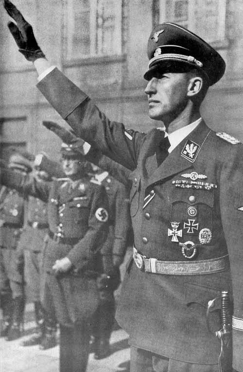 Рейнгард Гейдрих. Греция. 1940 г.
