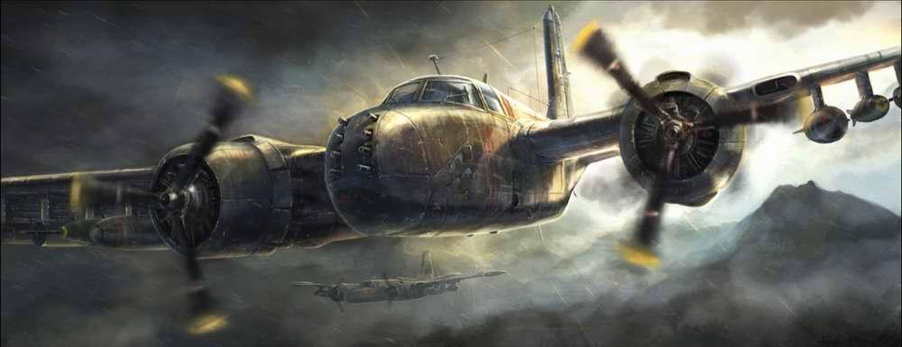Javora Rado. Штурмовик Douglas A-20.