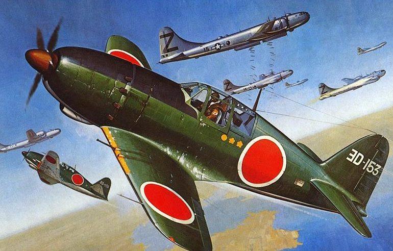 Shigeo Koike. Истребитель Mitsubishi J-2M «Raiden».