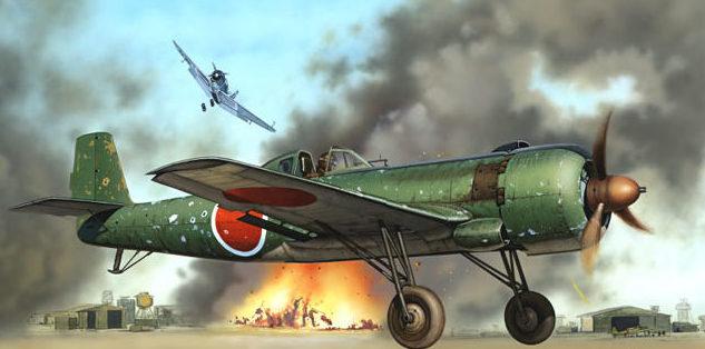 Novotny Martin. Истребитель Ki-115.