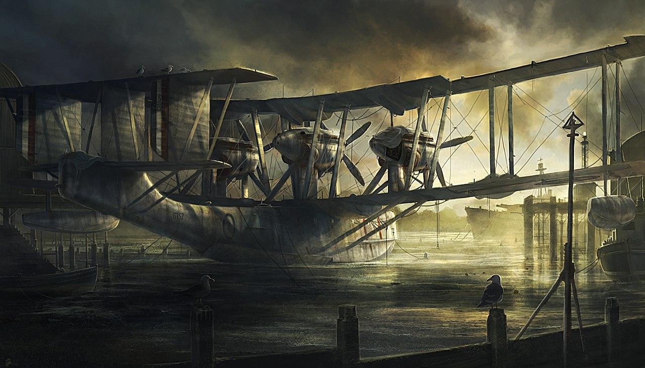 Javora Rado. Летающая лодка.