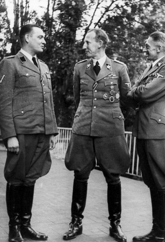 Рейнгард Гейдрих. Прага. 1941 г.