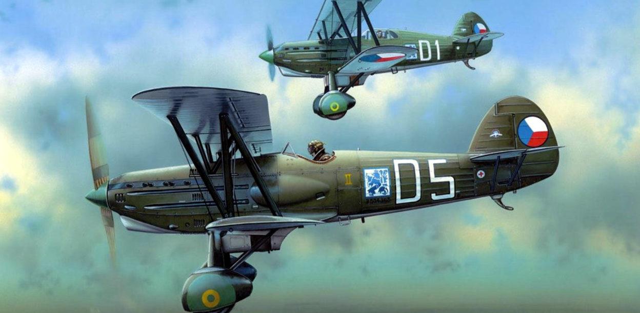 Novotny Martin. Истребитель Avia B-534 III.