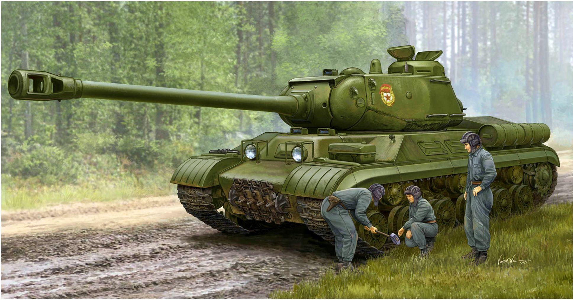 Volstad Ronald. Танк ИС-2м.