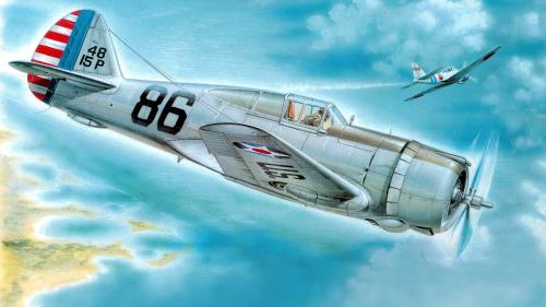Hajek Stanislav. Истребитель Р-36А.