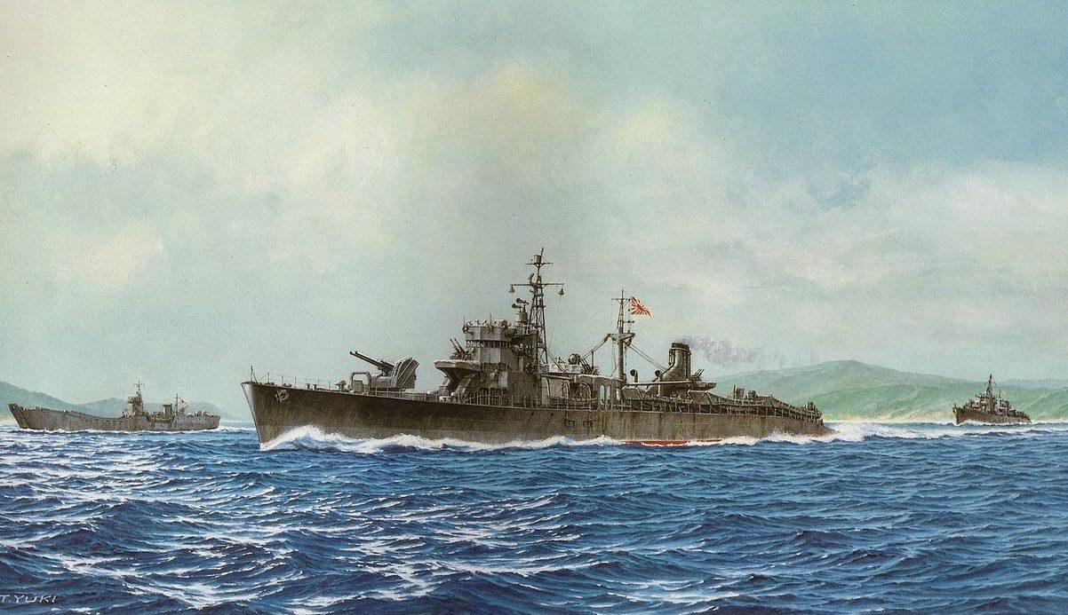 Takeshi Yuki. Вспомогательные корабли.