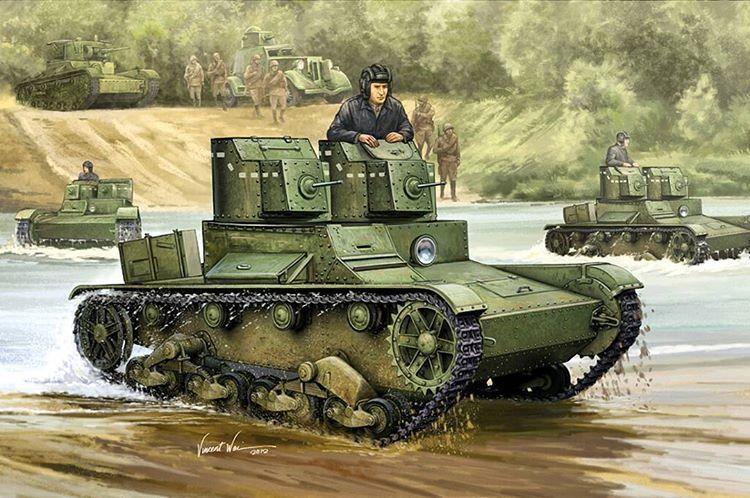 Wai Vincent. Танк Т-26.