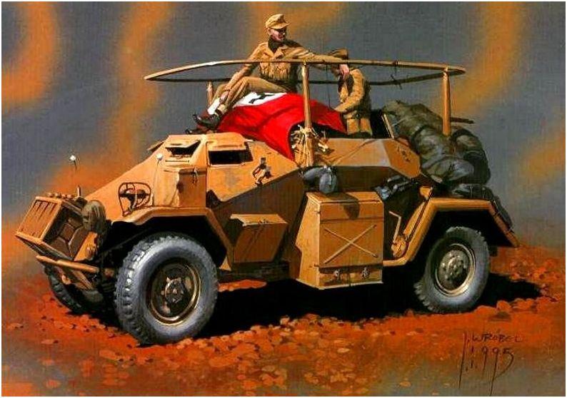 Wrobel Jaroslaw. Бронеавтомобиль Sd.Kfz.223.