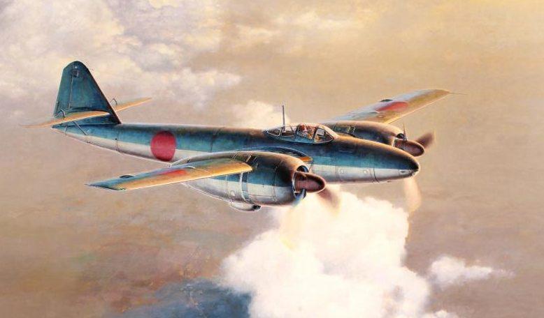 Shigeo Koike. Истребитель Mitsubishi Ki-83.