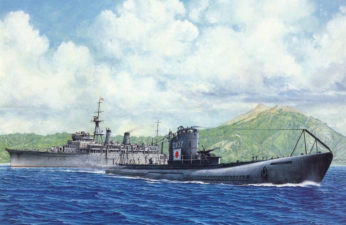 Takeshi Yuki. Подлодка Ро-107».