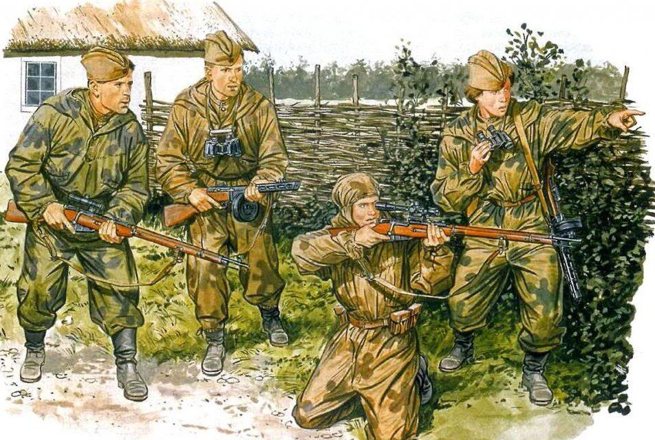 Volstad Ronald. Советские снайперы.