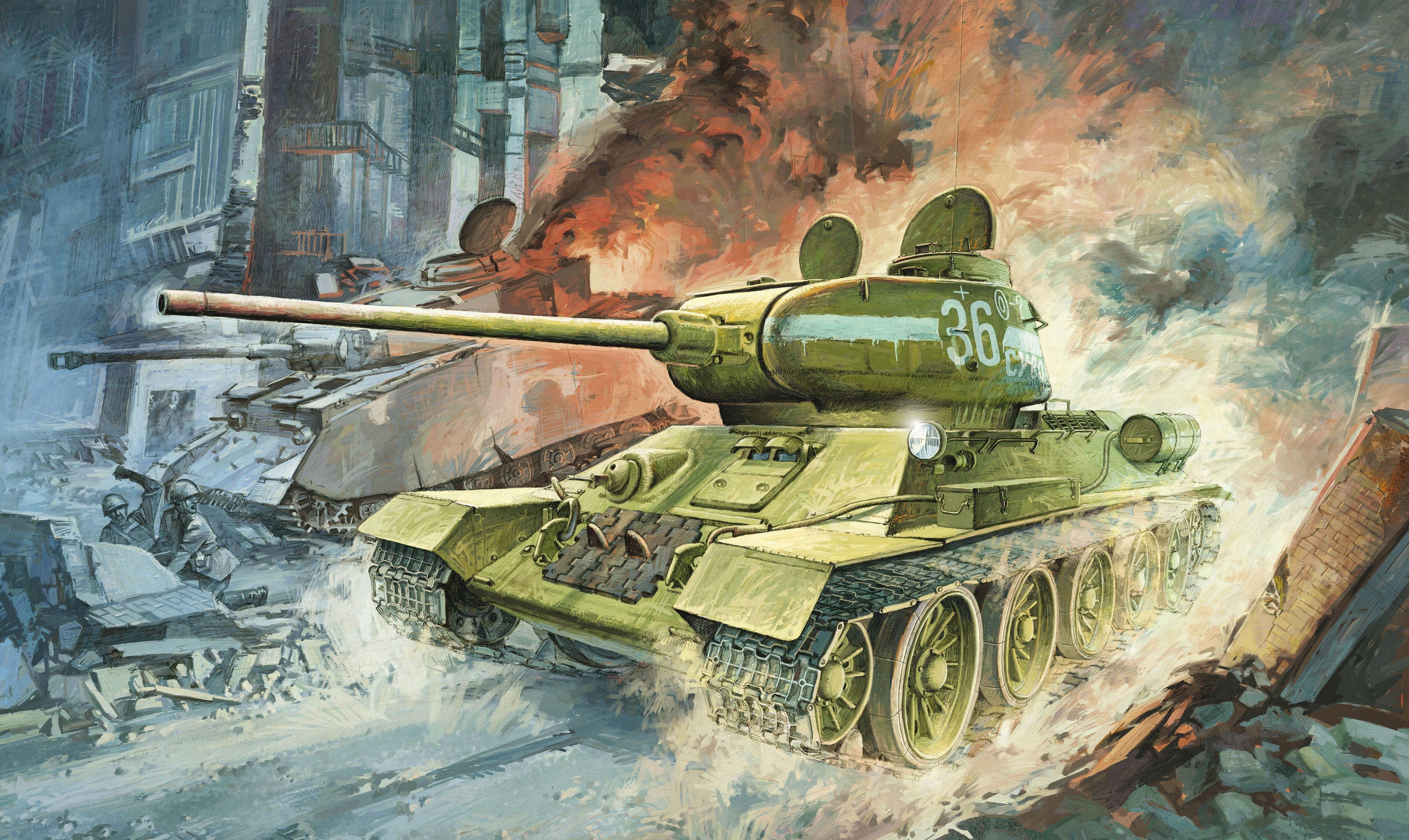 Heum Chang. Танк Т-34/85.