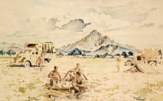 McIntyre Peter. Лагерь в пустыне.