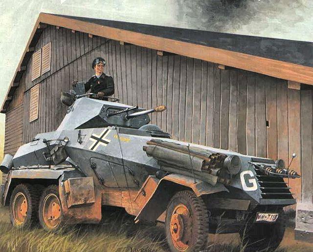 Wrobel Jaroslaw. Бронеавтомобиль Sd.Kfz.231.