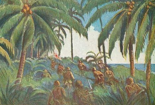 Matsunosuke Koshima. Битва за остров.