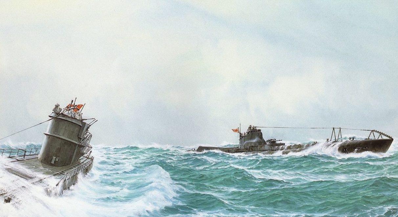 Takeshi Yuki. Немецкие подводные лодки 7-й серии.