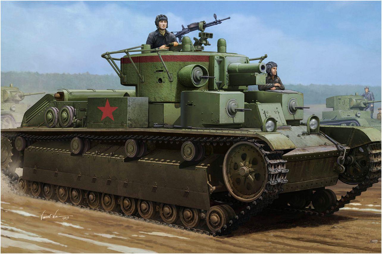 Wai Vincent. Танк Т-28.
