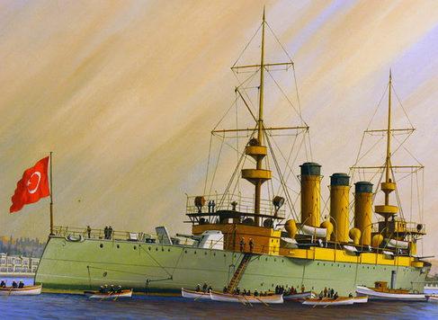 Koralturk Cumhur. Корабли на рейде.