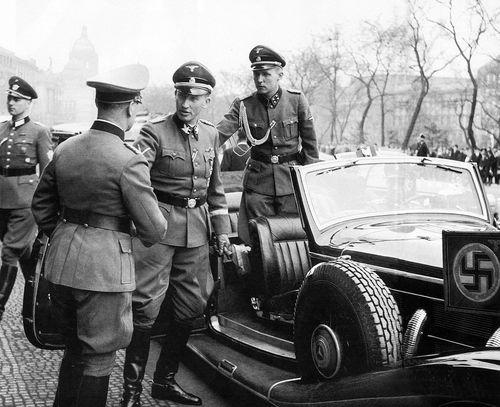 Рейнгард Гейдрих. Прага.1942 г.