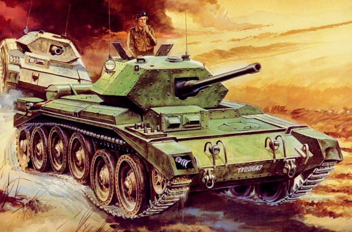 Hasegawa Tohaku. Танк Crusader Mk.III.