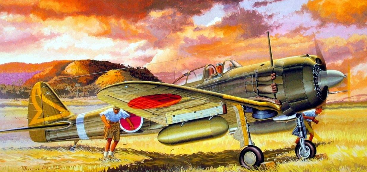 Shigeo Koike. Истребитель Nakajima Ki-43.