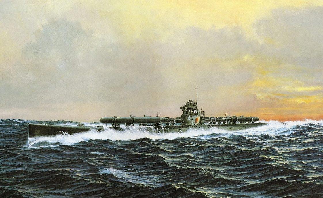 Takeshi Yuki. Немецкая подлодка U-370.
