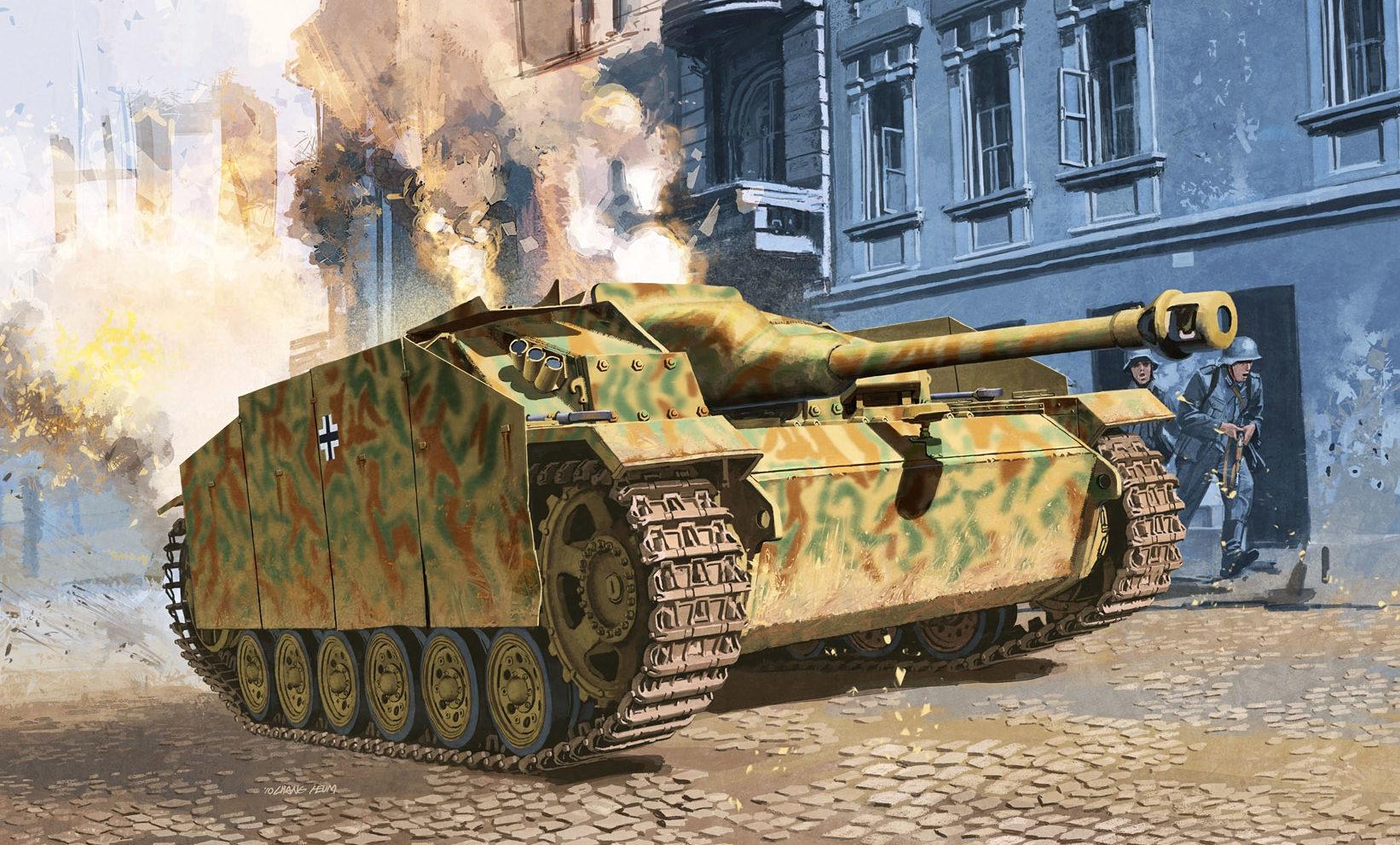 Heum Chang. САУ StuG.III Ausf.G.