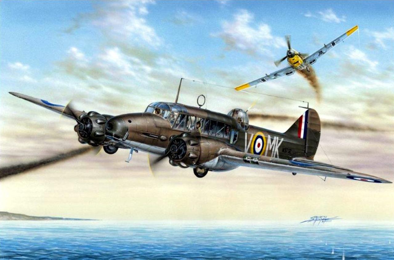 Hajek Stanislav. Многоцелевой самолет Avro Anson Mk.I.