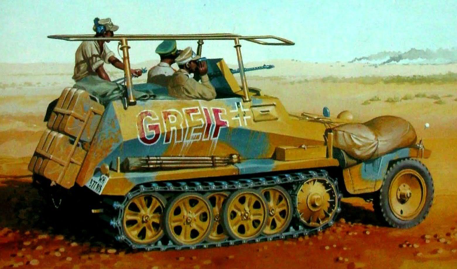 Wrobel Jaroslaw. Бронеавтомобиль Sd.kfz. 250-3 «Greif'».