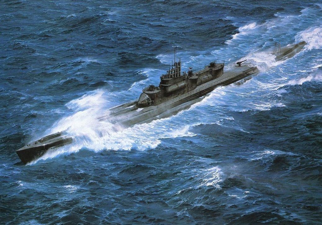 Takeshi Yuki. Немецкая подлодка U-400.