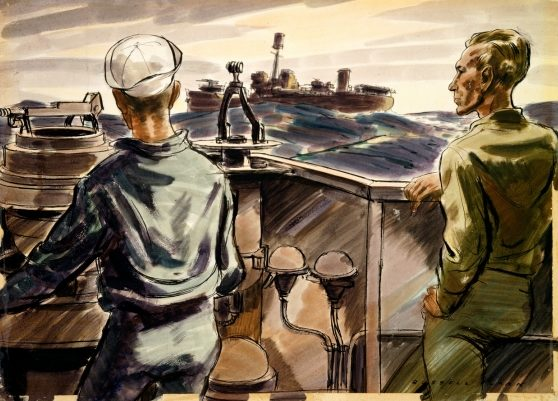 Clark Russell. Капитанский мостик.