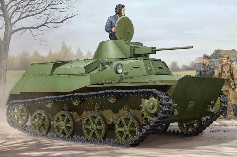 Wai Vincent. Танк Т-30c.