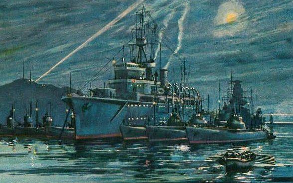 Mikuriya Junkichi. Военно-морская база.
