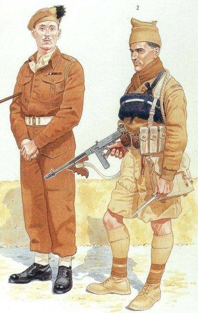 Британский коммандос.