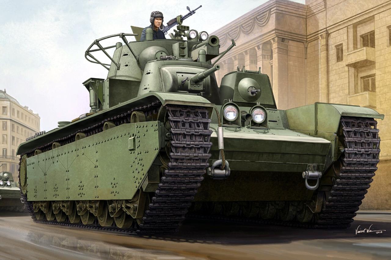 Wai Vincent. Танк Т-35.