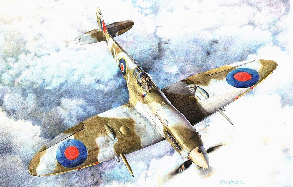 Rampir Pavel. Истребитель «Spitfire».