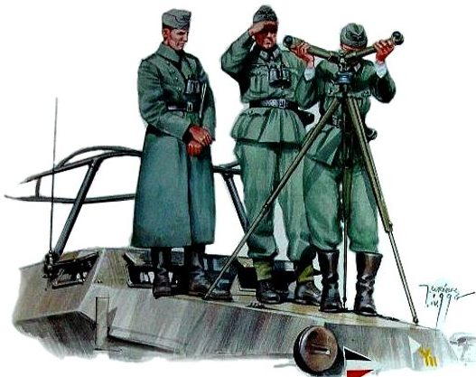 Wrobel Jaroslaw. Бронеавтомобиль Sd.kfz. 251.