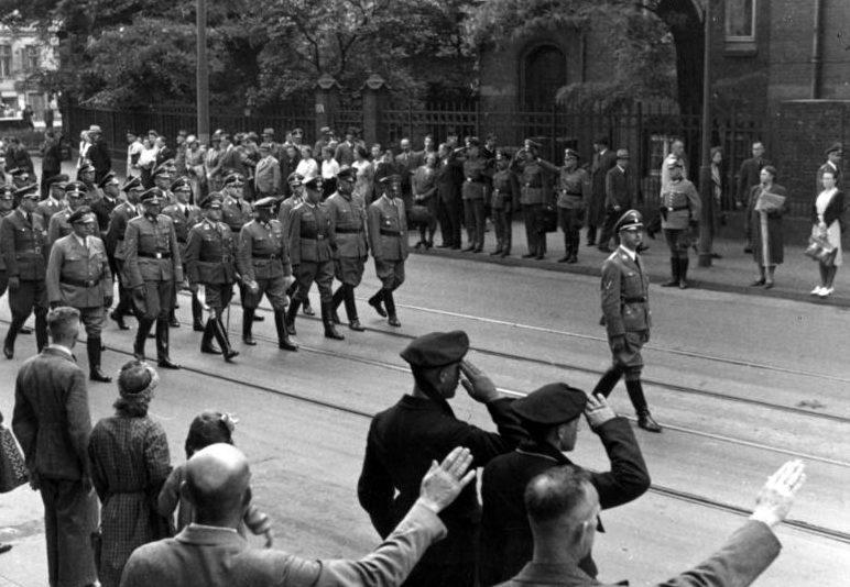 Похороны Рейнгард Гейдрих. 1942 г.
