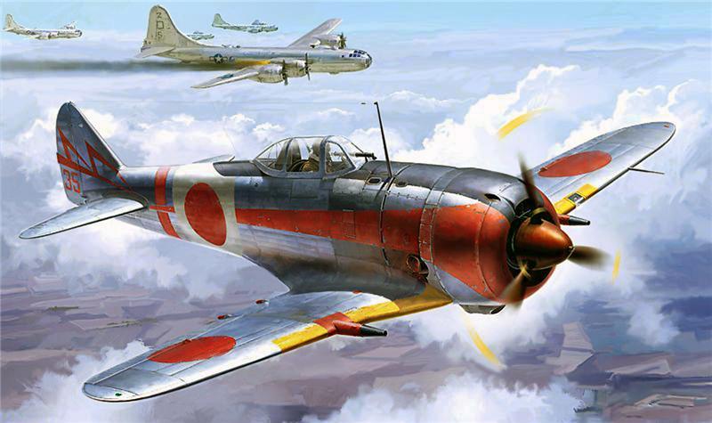 Shigeo Koike. Истребитель Nakajima Ki-44.