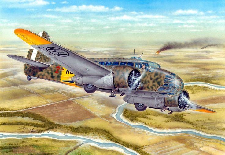 Hajek Stanislav. Истребитель Caproni Ca.311M.