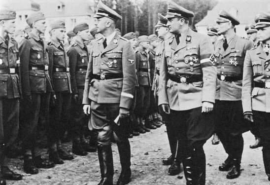 Артур Аксманн, Генрих Гиммлер и Гитлерюгенд. 1943 г.
